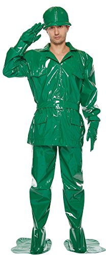 Disney's Toy Story -- Green Army Men Costume -- Men's Standard (Toy Story Green Army Man Costume)