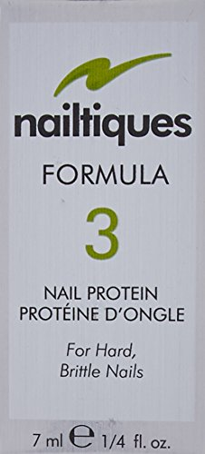 Nailtiques Nail Protein Formula for Women, 3, 0.25 Ounce