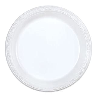 Party Dimensions 200 Count Plastic Plate, 9-Inch, White, Club Pack (B00YSPN92O) | Amazon price tracker / tracking, Amazon price history charts, Amazon price watches, Amazon price drop alerts