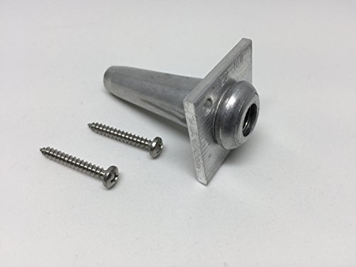 Gauge Anchor - One Way Anchor Vises for 8-11 Gauge Wire with Screws 10 Pack | WireVise | Grape Arbor | Wire Trellis | Anchor Vise