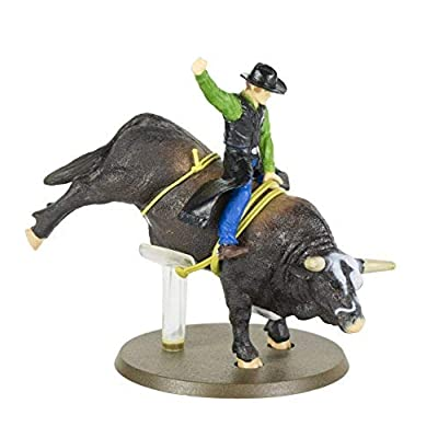 Big Country Toys PBR Rodeo Set - 1:20 Scale - Bushwhacker The Bull - Flint Rasmussen - Rodeo Toy Set: Toys & Games