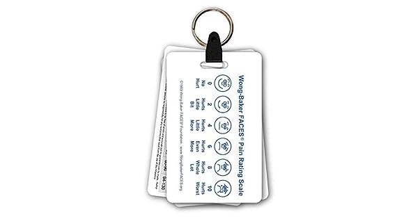 Amazon.com: 5 Tarjeta Pediatric Llavero Badge Tarjeta de ...