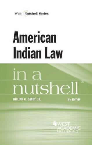 Read Online By William Canby Jr - American Indian Law in a Nutshell (6th Edition) (2014-12-20) [Paperback] pdf epub