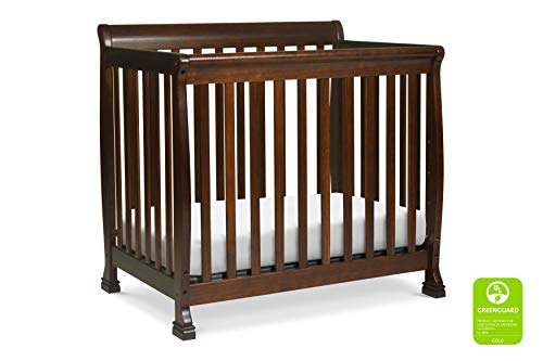 - Davinci Kalani 4 in 1 Convertible Mini Crib and Twin Bed, Espresso