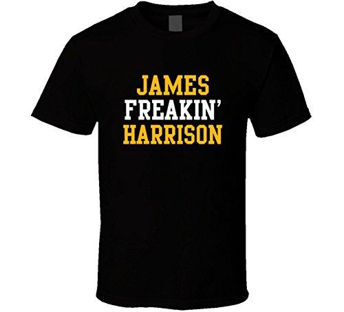 James Freakin' Harrison Pittsburgh Football Player Cool Fan T Shirt XL Black