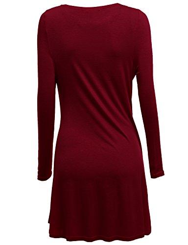 Doublju Womens Long Sleeve Cardigan Draped Open Front Cardigan (S - 3XL)