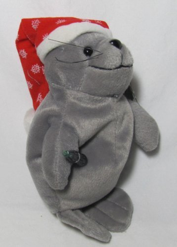 Coca-cola Bean Bag Plush Seal in Snowflake Hat # 0102