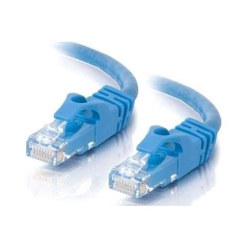 Cable 2 Go 03980 30ft Cat6 Snagless Unshielded (UTP) Network Patch Cable - Blue (03980) (C2g Cat6 Cable Patch)