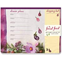 """Forest Feast Meal Planner and Shopping List, The:Magnetic Notepad: """"Magnetic Notepad, 50 Sheets, 5 Designs"""""""