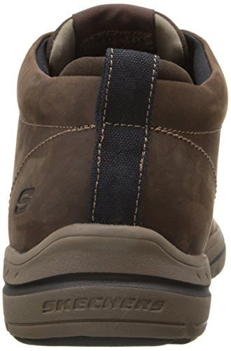 Skees Marrone Skechers Scarpe Harper 64857 Chocolate Uomo Uwq6SdX