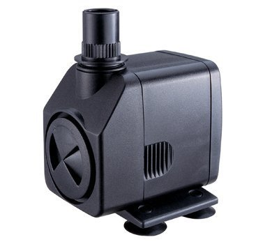 Fountain Tech 250GPH 120V Submersible Pond or Fountain Pump, 12 FT Cord, FT-250