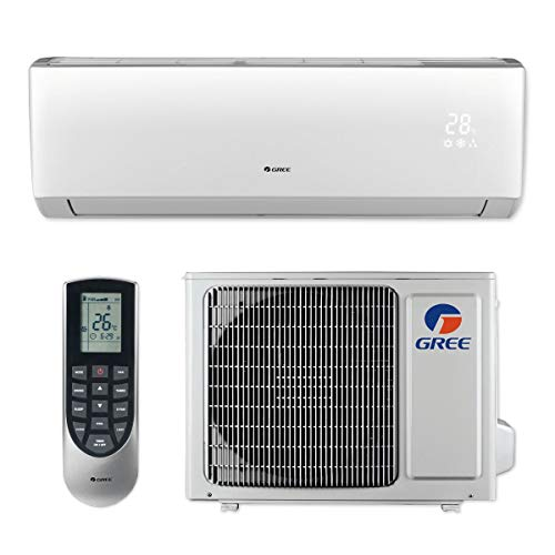 (Gree LIVS09HP115V1B - 9,000 BTU 16 SEER LIVO+ Wall Mount Ductless Mini Split Air Conditioner Heat Pump 115V)