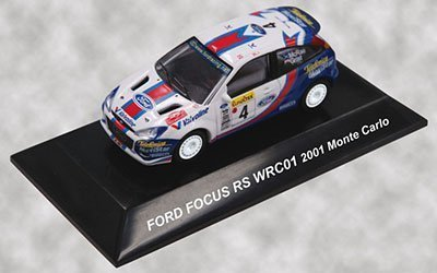 Sea Cm's Corporation 1/64 Rally Car Collection Ford Focus Rs WRC Monte Carlo 2001 # 4