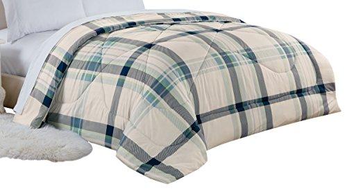 RT Designers Collection Pine Ridge Plaid Comforter, Twin ()