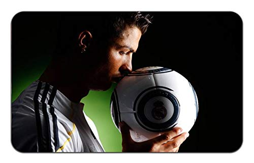 Cristiano Ronaldo Soccer Futbol Star Stylish Playmat Mousepad (24 x 14) Inches [PM] Ronaldo- 2
