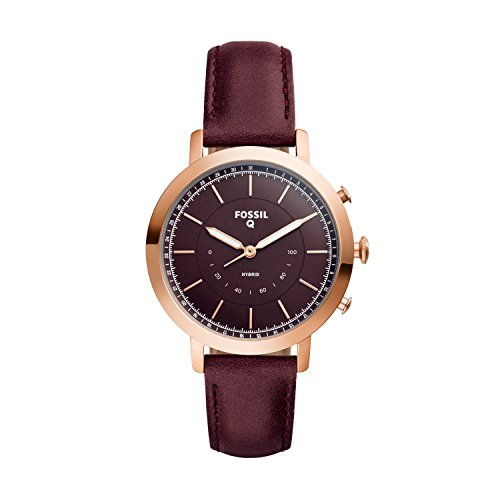 Fossil Hybrid Smartwatch - Q Neely Cabernet Leather FTW5003 by Fossil