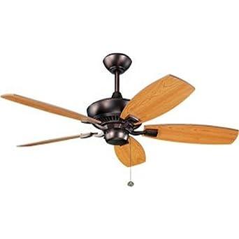 Kichler 300117OBB, Canfield Oil Brushed Bronze Energy Star 52 Ceiling Fan