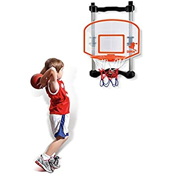 SainSmart Jr. Basketball Hoop Kids Electronic Basketball Games For Door, Indoor  Basketball Hoop Score