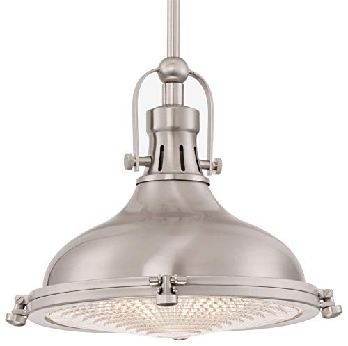 Kira Home 11-Inch Beacon Industrial Farmhouse Adjustable Pendant Light