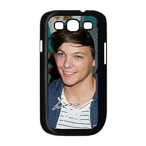 Top Galaxy Case Pop Singer Louis Tomlinson of Pop Boy Band One Direction Design for Best Samsung Galaxy S3 I9300 Case (black) by icecream design
