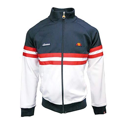 ellesse Men's Rimini Track Jacket, Blue, L