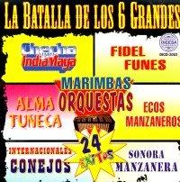 (La Batalla De Los 6 Grandes Marimbas Orquestas)