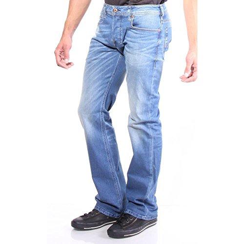 Diesel Men&39s Stretch Jeans Bootcut Zatiny 0850W 805W Blue lovely