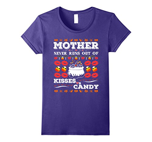 Womens Cool Halloween Shirts For Women, Mother. Halloween Costumes XL Purple