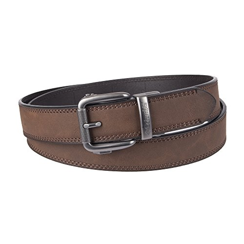 (Columbia Men's Perfect Adjustable Click to Fit Belt, brown, One Size)