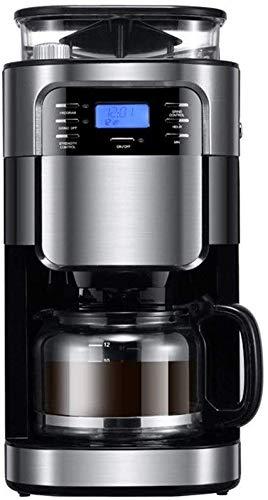Meyeye Automática de café, moler y automática Cafetera con Digital ...