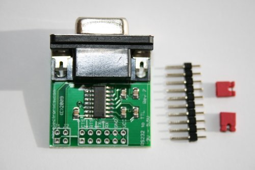 Rs 232 Voltage - RS232 to TTL converter board DCE with Female DB9 3.3V to 5V