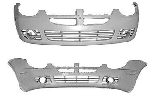 - CPP Front Bumper Cover for 2003-2004 Dodge Neon CH1000378