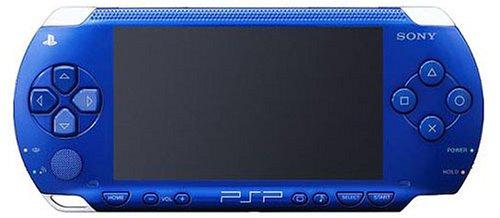 PSP「プレイステーションポータブル」 メタリックブルー (PSP-1000MB) 【メーカー生産終了】 B000K6ZTTQ