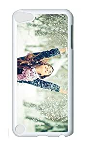 Ipod 5 Case,MOKSHOP Awesome winter snow fun Hard Case Protective Shell Cell Phone Cover For Ipod 5 - PC White