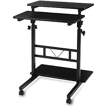 Compact Standing Computer Desk