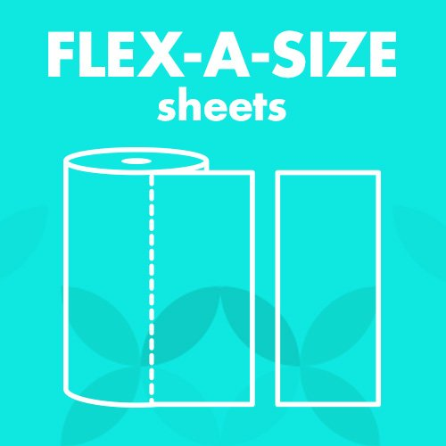 Amazon Brand - Presto! Flex-a-Size Paper Towels, Huge Roll, 6 Count = 15 Regular Rolls by Presto! (Image #3)