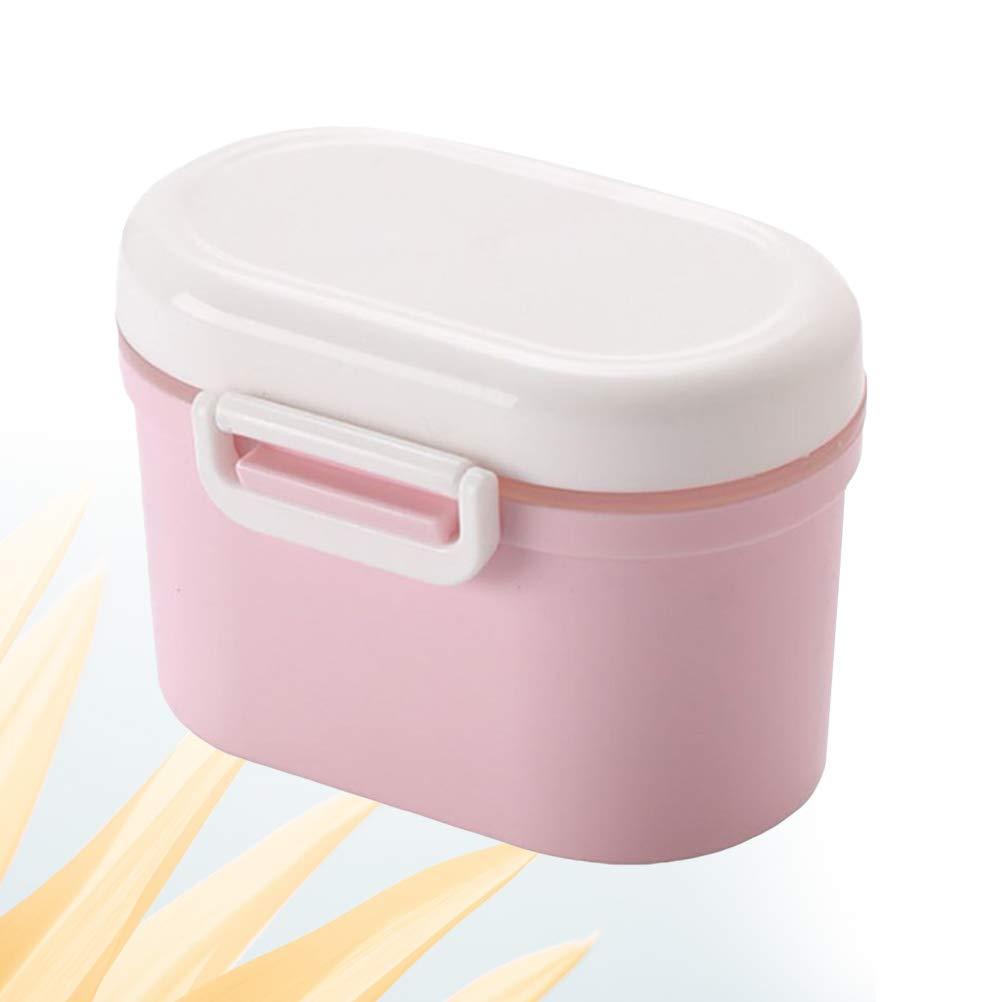 YeahiBaby Estuche portátil para bocadillos Caja de Almacenamiento con Forma de Galleta Linda y Creativa para bebé, niño, tamaño S (Rosa): Amazon.es: Hogar