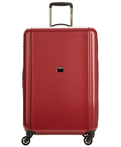 """Cheap Delsey Luggage Ez Glide 25"""" 4 Wheel Expandable Spinner, Burgundy"""
