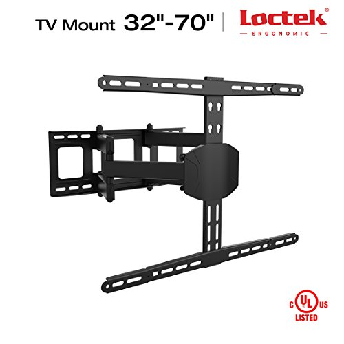 Loctek TV Wall Mount LCD Monitor Articulating Arm Full Mo...