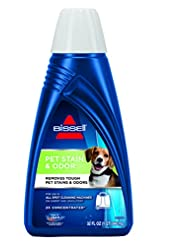 BISSELL 2X Pet Stain & Odor Portable Machine Formula, 32 ounc...