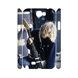 I-Cu-Le Kurt Cobain Customized Hard 3D Case For Samsung Galaxy Note 2 N7100