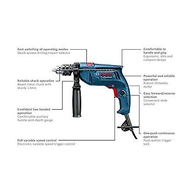 Bosch GSB 550 Mechanic Kit Professional 12