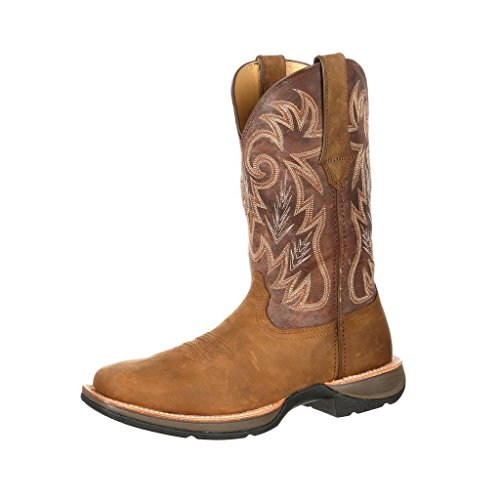 "UPC 883802928938, Durango Boot Men's DDB0056 12"" Western Ramped Up Rebel,Tan/Chocolate Leather,US"