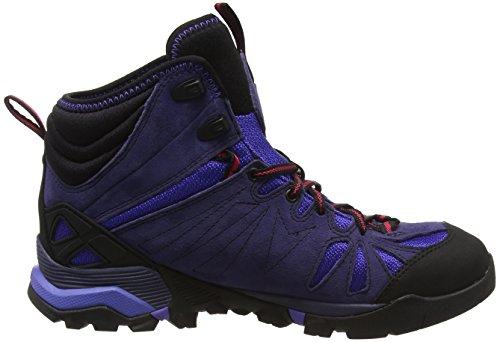 amp; Gore Wanderhalbschuhe Capra 37 Trekking Merrell Tex Mid Grau Eclipse Violett EU Damen qBWZctY