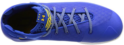 Curry Men's 3 White 400Royal Basketball ASW Gold Armour Shoe Under OF6wEE