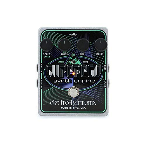 Electro Harmonix Superego Synth Engine Guitar Effects Pedal ()
