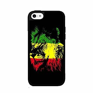 Rasta Lion Plastic Fashion Phone Case Back Cover iPhone 5 5s