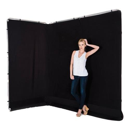 Lastolite LL LB7625 13-Feet Panoramic Background Cover (Black)