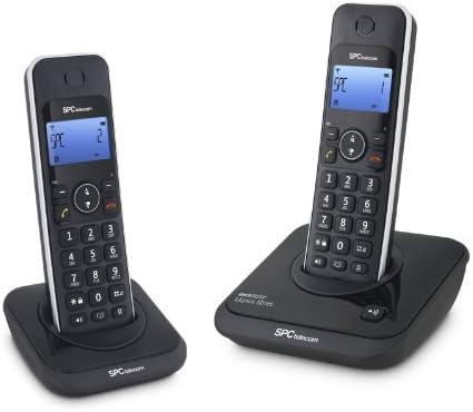 SPC 7244N - Teléfono Inalámbrico N Dect Dúo: Amazon.es: Electrónica
