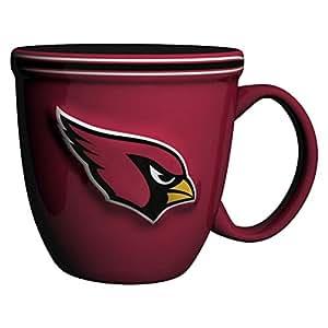 NFL Arizona Cardinals Bistro Mug, 15-ounce, Red